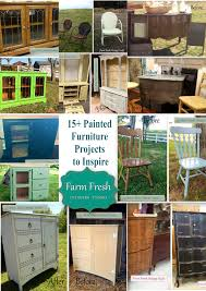 Repurposed Furniture Before And After by 15 Before And After Painted Furniture Ideas Farm Fresh Vintage