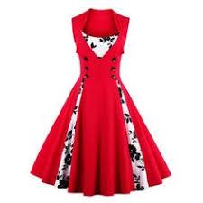 style vintage pas cher midi polka dot prom rockabilly swing vintage prom dresses polka