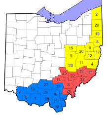 Central Ohio Map by File Appalachian Ohio Counties Svg Wikimedia Commons