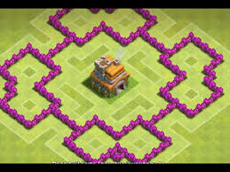 coc map layout th6 clash of clans best base th6 hybrid base new 2015 hd youtube