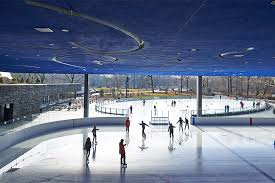 the most architecturally beautiful skating rinks photos