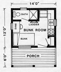 Diy Floor Plans Diy Tiny Cabin With Plans Country Living