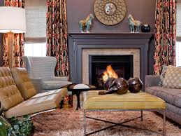 ideas to decorate a living room 20 mantel and bookshelf decorating tips hgtv