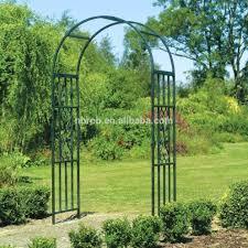 ez archkensington metal garden arch with gates best arches uk