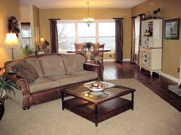 Decorating Ideas For Living Rooms With Brown Leather Furniture Recently Living Room Decorating Ideas With Dark Wood Floors Living