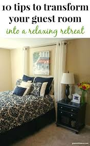 Transform Bedroom Green With Decor U2013 Tips To Transform Your Guest Bedroom