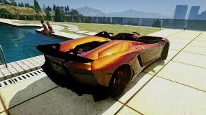 2012 Lamborghini Aventador - 2012 lamborghini aventador j speedster unlocked gta5 mods com