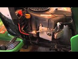 why my john deere l120 mower did not start youtube
