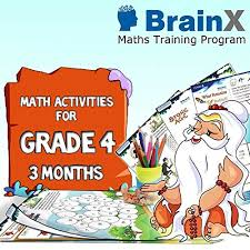 buy maths activities and worksheets for grade 4 brainx maths