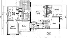 15 beautiful 3 car garage floor plans house plans 7529