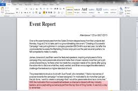 Standard Essay Format Example Report Essay Format