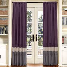 Purple Thermal Blackout Curtains by Blackout Curtains Canada Home Decorating Ideas