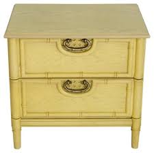 faux bamboo nightstand by bassett janney u0027s collection brands