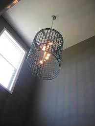 diy chandelier light fixture the style files