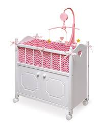 others cute badger basket doll crib for kids room accessories