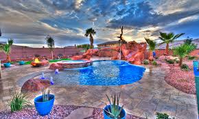 Pool Landscape Pictures by Cutting Edge Pools U0026 Landscaping St George Utah