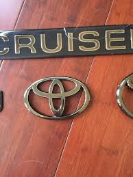 lexus lx450 emblems wanted 1997 land cruiser 40th anniversary emblems and decals