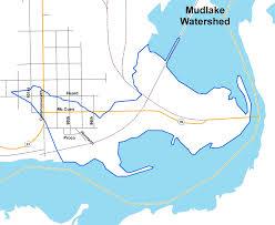 Lake Merritt Map Lakesuperiorstreams Mud Lake Watershed Maps