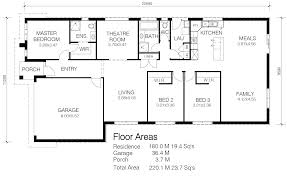 wide block house plans house plan