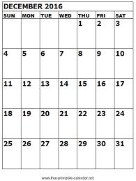 blank calendar template word 2016 december 2016 printable calendar templates free printable calendar