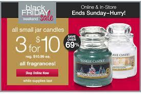 yankee candle black friday weekend sale