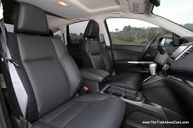 Honda Crv Interior Space Review 2015 Honda Cr V Touring With Video The Truth About Cars