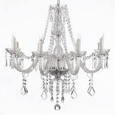 Glass Crystal Chandelier Drops 34 Best Chandeliers Images On Pinterest Crystal Chandeliers