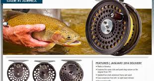orvis cfo the fiberglass manifesto new orvis c f o fly reel for 2014