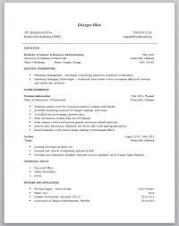 23 marvellous recent college grad cover letter resume sample