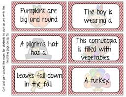 thanksgiving complete sentence bundle by apple of their eye tpt