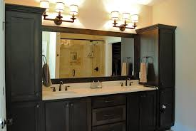 bathroom ideas with glass shower doors and 72 inch double sink