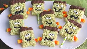make halloween monstrously fun with homemade frankenstein treats
