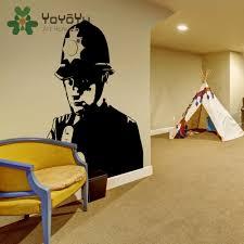 tienda online tatuajes de policía banksy graffiti room decor decal