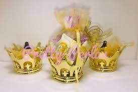 princess baby shower 12pc fillable baby shower favors crown prince princess table