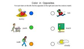 opposite worksheet free worksheets library download and print