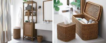 Tall Cabinet For Bathroom by Bathroom Storage Ideas And Tips Crate And Barrel