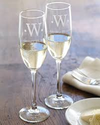 wine glass with initials connoisseur chagne flutes set of 2 williams sonoma
