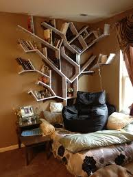 Creative Bookshelf Ideas Diy Diy Tree Bookshelf With Bedroom Diy Tree Bookshelf And Unique