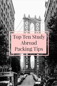 best 25 study abroad packing ideas on international