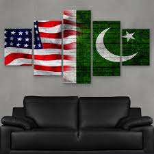 Flag Of Pakistan Image Hd Printed Limited Edition American Pakistani Pakistan Flag