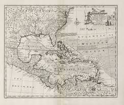 Map Of West Indies An Accurate Map Of The West Indies Bowen Central America