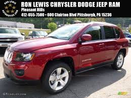 dark red jeep 2016 deep cherry red crystal pearl jeep compass latitude 4x4
