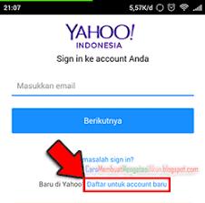 membuat yahoo mail via hp buat email yahoo lewat hp pake aplikasi gratis ymail indonesia