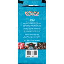 kauai coffee vanilla macadamia nut hawaiian ground coffee 10 oz