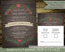 christmas wedding invitations 50 christmas wedding invitations