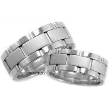 his and hers white gold wedding rings matching wedding bands white gold ebay