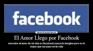 imagenes de amor en facebook el amor llego por facebook desmotivaciones