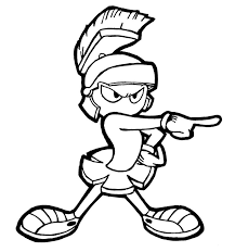 sheets marvin the martian coloring pages 65 with additional