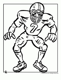 football player coloring pages with regard to encourage cool