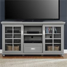 55 Inch Tv Stand Ameriwood Furniture Aaron Lane Tv Stand Buffet Gray
